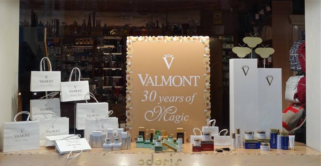 Escaparate Valmont Valladolid